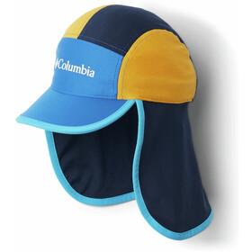 Columbia Junior II Cachalot Hat Youth, azul/amarillo